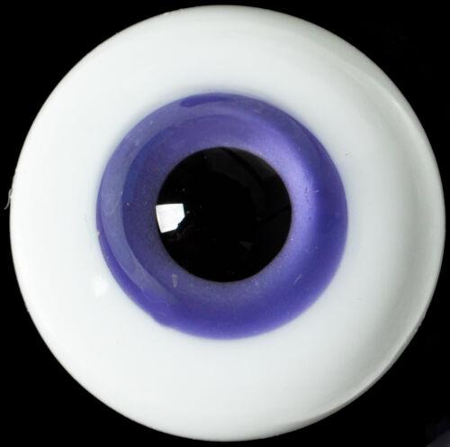 for Iplehouse Luts BJD Doll purple Iris/&Black Pupil Nice 14mm Glass BJD Eyes