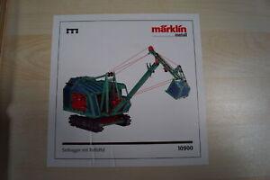 Marklin-10900-Metall-Baukasten-034-SEIL-BAGGER-CRANE-034