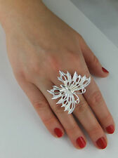 JoliKo Ring Silber pl Schmetterling Silver Sunlight Butterfly Matt und Glanz Fee