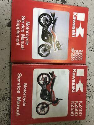 1979 1980 1981 1982 83 1984 Kawasaki Z400f Z500f Z550f