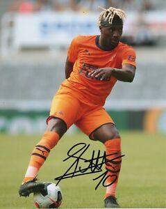 Newcastle Allan Saint-Maximin Autographed Signed 8x10 ...