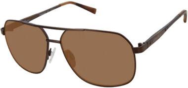 Eddie Bauer Polarized Brown Navigator Men's Sunglasses