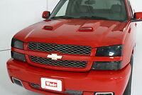 Smoke Head Light Covers For 1995 - 1999 Chevrolet Cavalier Z-24