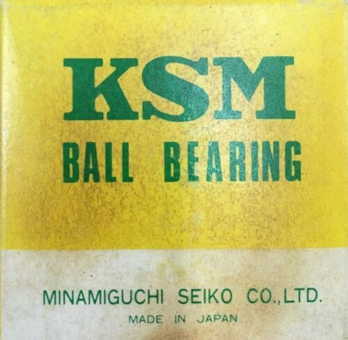 5205-ZZ KSM New Double Row Ball Bearing 20x47x20.6 mm