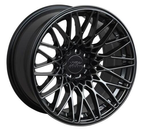 36 Chromium Black Wheel 1 18X8.75 XXR 553 5x100//114.3