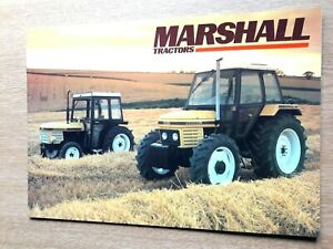 MARSHALL-TRACTORS-COLOUR-FARMING-RANGE-BROCHURE-PRE-USED-IN-VERY-GOOD-CONDITION