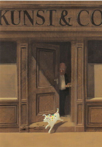 Postcard Art Kunst und Co. Postkarte Gerhard Glück