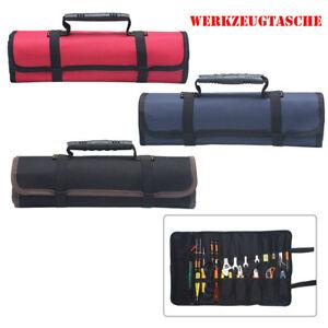 Werkzeugrolltasche-Toolpack-Rolltasche-Werkzeugtasche-Tasche-22-Faecher-Neu