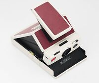 Polaroid Sx-70 Replacement Cover - Laser Cut Recycled Leather