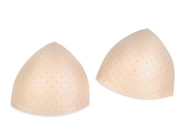 BH Bikini Einlagen Dreieck Luft Polster ca 13 x 13cm Spitz Push Up Sexy Kissen