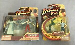 2x-Hasbro-Indiana-Jones-Actionfigur-Set-M-Ravenwood-Henchman-Mutt-Williams
