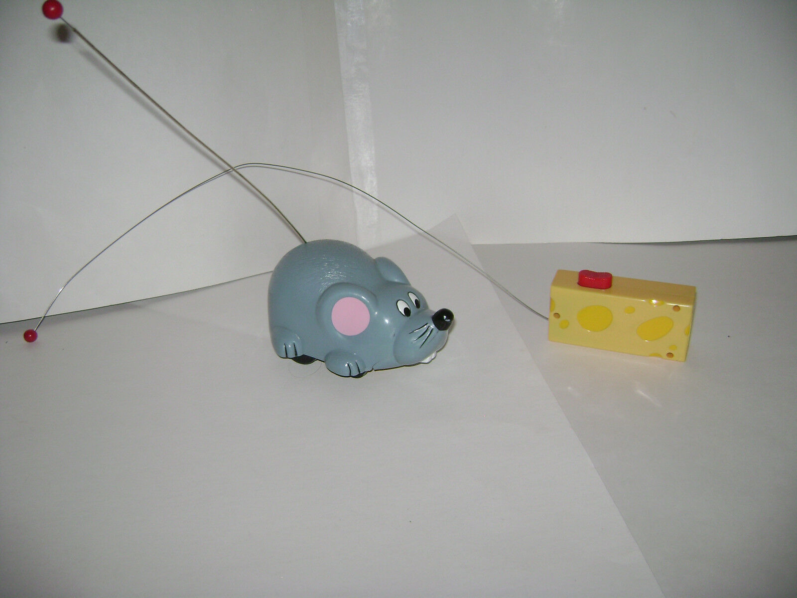 Vintage Fun Damental Too 1993 Remote Control Riding Mouse Rat Animal RARE