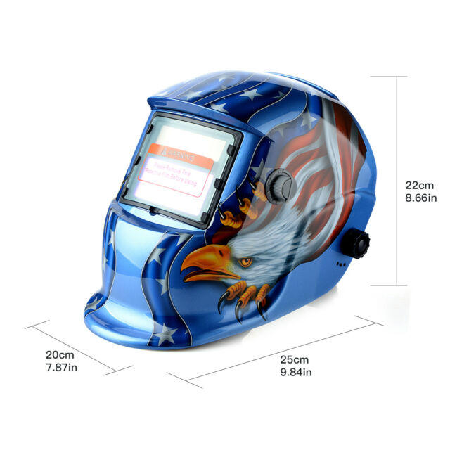 Tig Mig Grinding Pro Solar Energy Weld Mask Auto Darkening Welding Helmet Hot