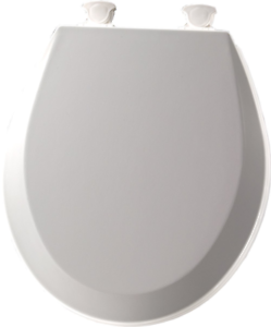 Bemis 500ec 062 Wood Round Toilet Seat With Easy Clean