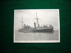 Il-Nuovo-incrociatore-torpediniere-Caprera-nel-1895