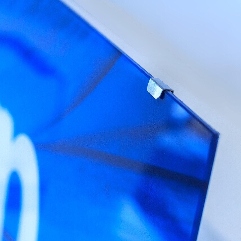 Noël, le dernier fou s'est approché Tableau sur verre Image Image verre Impression 120x60 Nature Chute D'eau 12fe98