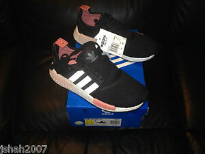 Noir Tailles Pêche Nouveau Uk Nmd Runner Adidas R1 Rose 8 9 XwOc6RRqWg