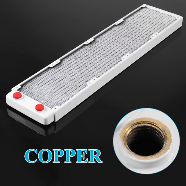 Full Copper 120mm 13 Tubes Computer PC Water Cooling Radiator CPU GPU Heatsink