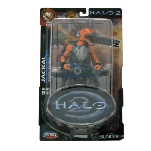 Joyride Studios Halo 2 Limited Edition Series Jackal With Covenant Beam Rifle
