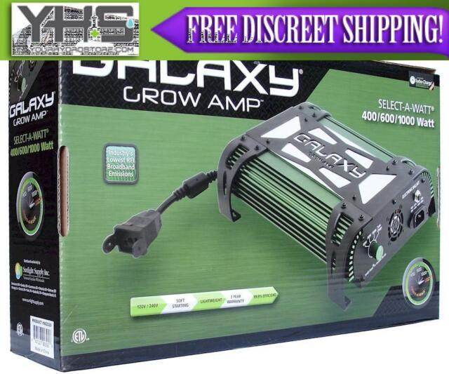Galaxy Grow Amp 1000 Watt 600/750/1000/Turbo Charge - 120/240 Volt