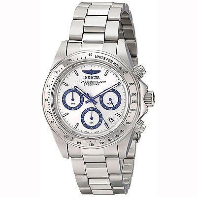 Invicta 17311 Men's Speedway Silver Dial Chrono Bracelet Watch