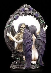 Oscuro-Angel-Figura-Espejado-des-Schicksals-Nemesis-Now-GOTHIC-ENGEL-ESPEJO