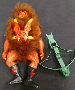 1985 GRIZZLOR Complet Vintage Masters Of The Universe Figure
