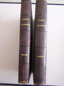2-LIVRES-LE-ROSIER-DE-MARIE-JOURNAL-EN-L-039-HONNEUR-DE-LA-SAINTE-VIERGE-1863