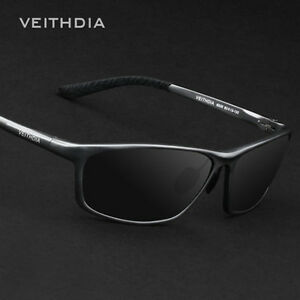 a92d303deb Image is loading Veithdia-Polarized-Mens-UV400-Pilot-Sunglasses-Outdoor- Driving-