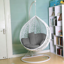Item 2 Rattan Wicker Weave Swing Chair Beach Garden Patio Hanging Hammock Chair  Seat  Rattan Wicker Weave Swing Chair Beach Garden Patio Hanging Hammock ...