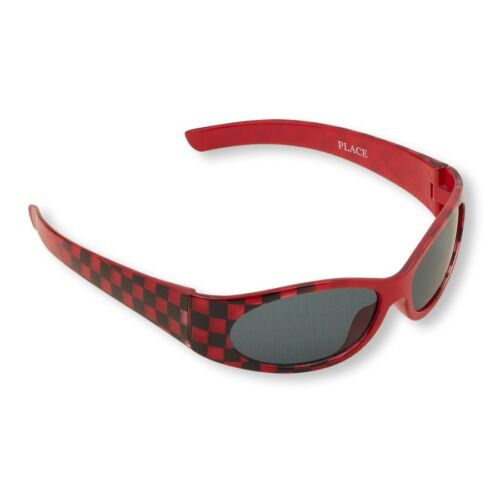 """Red BowTie /& Sunglasses Details about  /Toddler Boy/'s Red//Black Check 25/"""" Adjustable Suspenders"""