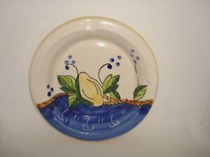 "Hand Painted Italy Ash Tray Bowl Tresors DIPINTO A MANO Pottery Collect NWT 6"""