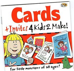 cards and invites 4 kids 2 make windows 95 98 xp 7 8 10 see