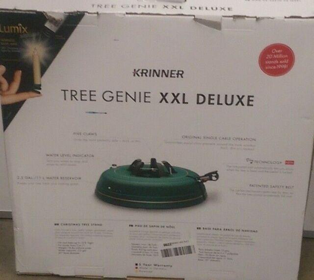 Krinner Tree Genie Tree Genie XXL Deluxe Christmas Tree Stand, Green 70   eBay
