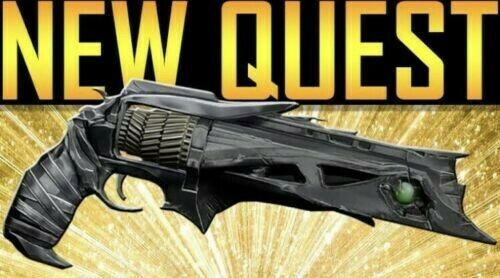 Destiny2 Thorn Exotic He Cannon  Full Quest completion(PS4)  ordinare on-line