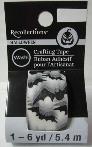 Recollections Halloween BOO RAVENSHEAD MANOR Washi Crafting Tape Set Lot 2 pick
