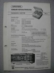 GRUNDIG TK8 Service Manual