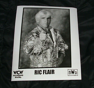 Ric-Flair-WCW-Original-Vintage-Promo-Photo-NWO-NWA-Wrestling