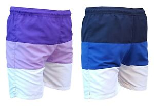 ACCLAIM-Fitness-Kaikoura-Mens-Adults-Striped-Stripe-Sports-Swimming-Water-Shorts