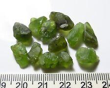 50ct ARIZONA GREEN PERIDOT rough NATURAL CRYSTAL GEMSTONE LOTS