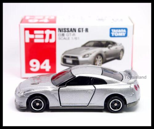 TOMICA 94 NISSAN SKYLINE GT-R R35 1//61 TOMY GTR 35 DIECAST CAR SILVER