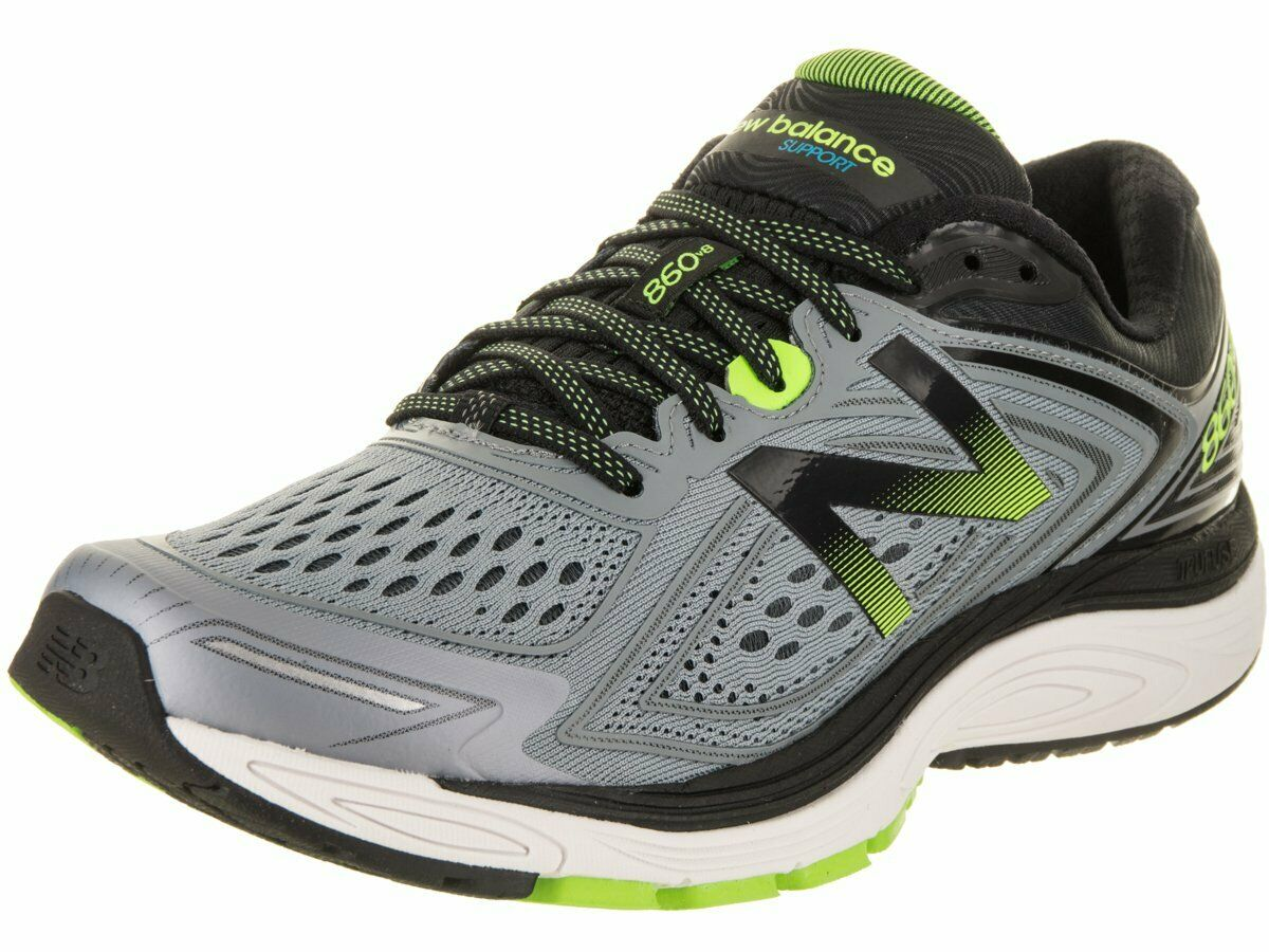 New Balance Men's M860v8 Grey Lime Size 9 D US