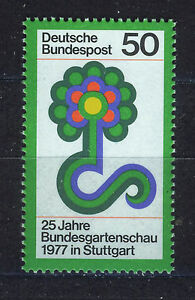 ALEMANIA-RFA-WEST-GERMANY-1977-MNH-SC-1245-Horticultural-Show