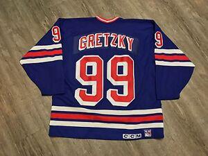 04a2442e0 Image is loading Vintage-Official-Starter-NEW-YORK-RANGERS-Wayne-Gretzky-