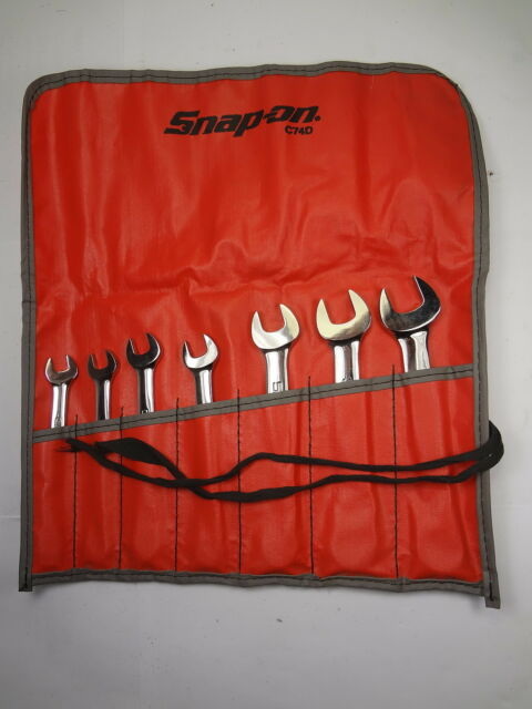 NEW Snap On 7pc British Standard Whitworth Wrench Set NEW WOEX UNUSED