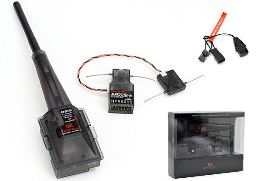 Nuevo sistema de módulo de aviones DSM2 Spektrum con AR7010 DSMX Jr XP9303 9X Envío Gratis