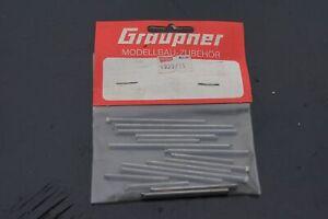 Graupner-Kyosho-4929-11-ejes-lapices-set-impacta-baja-nuevo-embalaje-original-rare-vintage