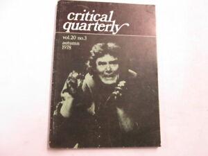 Acceptable-Critical-Quarterly-Vol-20-No-3-Autumn-Various-1978-Manchester-Un