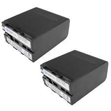 2x Akku 10400mAh für Sony NP-F550 NP-F930 NP-F950 NP-F960 NP-F970 NP-F990