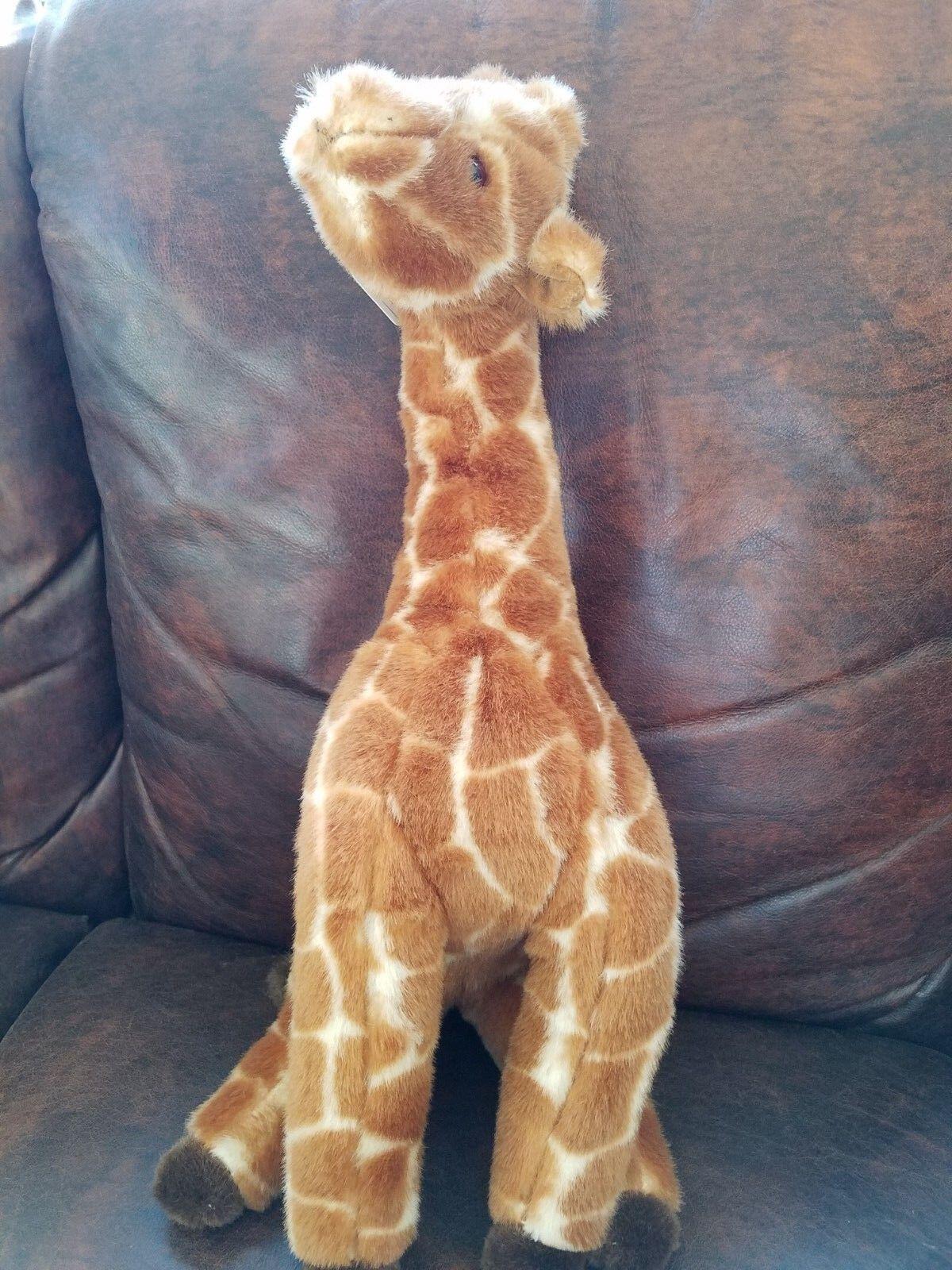TY Beanie  giraffe 1990 no hang Tag Made in Korea
